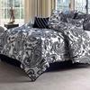 7-Piece Flocked Comforter Set