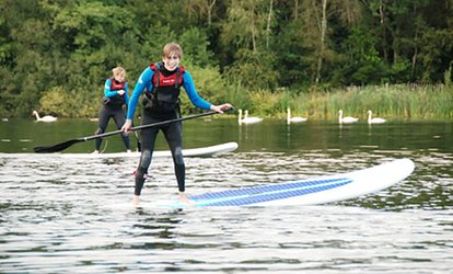 Two-Hour Paddleboard Lesson for Up to Four or Six at Devon Windsurf & Canoe Centre (58% Off)
