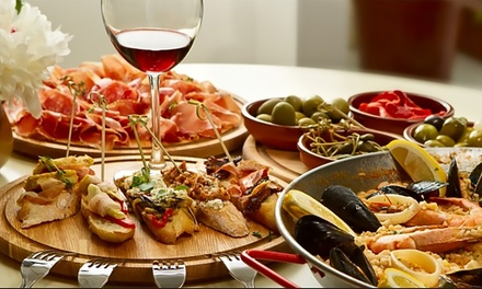 ThreeCourse Italian Meal with Wine or Beer for Two $39 or Four People $78 at Cellini Lounge Bar Up to $205.20
