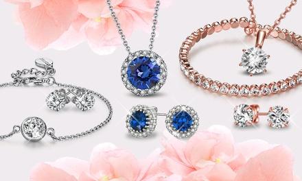 Bijoux au choix ornés de cristaux Swarovski® de la marque Neverland Sales, livraison offerte