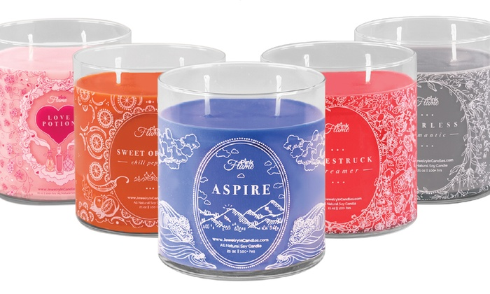 Half Off Candles With Jewelry From In