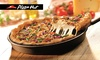 Pizza Hut 3-Gänge-Menü