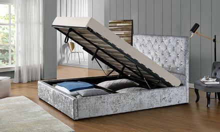 chatsworth ottoman storage bed