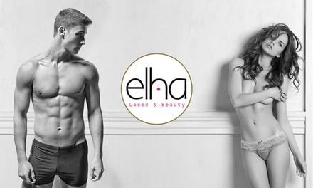 3 sesiones de depilación con láser diodo Sapphire en axilas o línea de bañador por 9,90 € en Elha Láser & Beauty Central