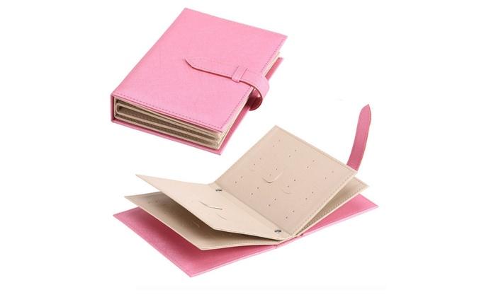 Rangement Pour Livre : livre de rangement pour boucles d 39 oreille groupon shopping ~ Teatrodelosmanantiales.com Idées de Décoration