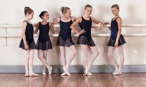 Broadway Bound Dance: One Month of Kids' Dance Classes or Two-Hour Dance Birthday Party for Up to 12 at Broadway Bound Dance (Up to 54% Off)
