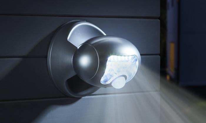 up to 68 off 20 led solar sensor porch light groupon