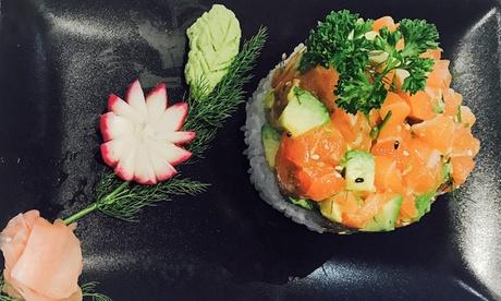 Menú degustación japonés para 2 o 4 en 7 o 9 tiempos desde 19,95 € en Sushi Deluxe