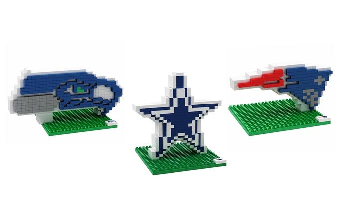 NFL 3D Logo Puzzle Set