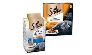 Sheba: Profitez gratuitement de bons de réductions sur un produit Sheba®, valable dans toutes les enseignes de distribution