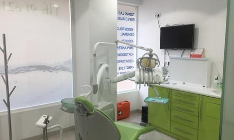Limpieza bucal con 1 a 6 implantes dentales de titanio con corona de porcelana desde 389 € en2 centros Ara Dental