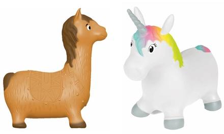 Unicorno o Lama gonfiabile John Hop Hop