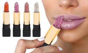 Rouge à lèvres pailleté modulable