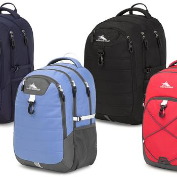 High Sierra Jaxton or Brees Daypack Laptop Backpacks