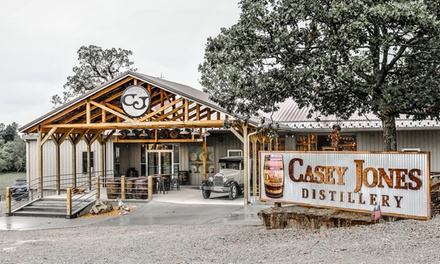 Tour and Tasting with Optional T-Shirt for One or Two at Casey Jones Distillery (Up to 40% Off)