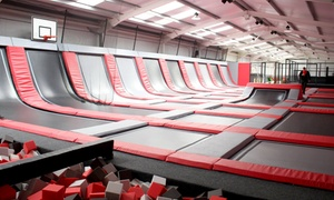 Drop Zone: One-Hour Trampoline Park Access for Up to Four at Drop Zone