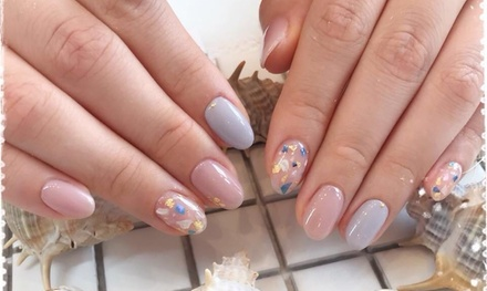 Gel Manicure $25 or Gel Pedicure $29 at H Nail Garden Up to $90 Value