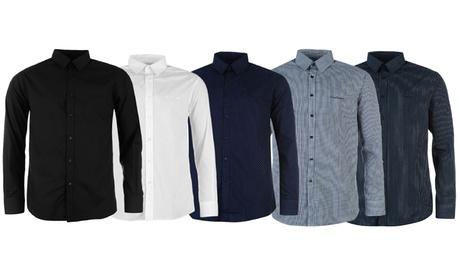 1 o 2 camisas de manga larga para hombre Pierre Cardin