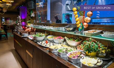 Rodizio-All-you-can-eat mit 10 Gängen, Buffet und Dessert im Brasil Brasileiro am Ku'damm (33% sparen*)
