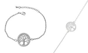 (Bijou)  Bracelet arbre de vie