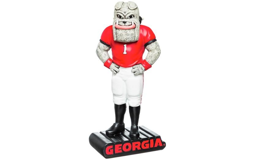 Team Sports America NCAA University of Kansas Fun Colorful Mascot Statue 12 Inches Tall