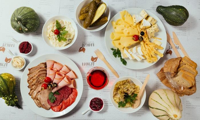 Miks Smakołyków Z Polskiej Kuchni Ranczo Bar Z Polską