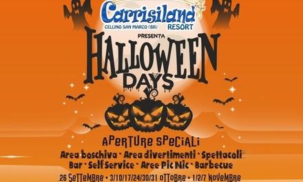 Carrisiland, autunno e Halloween  a 5€euro