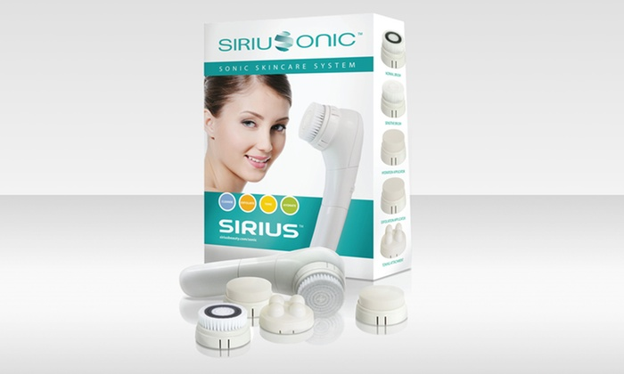 Sirius Beauty Sonic Skincare System: Sirius Beauty Sonic Skincare System with Exfoliating Brushes. Free Shipping and Returns.