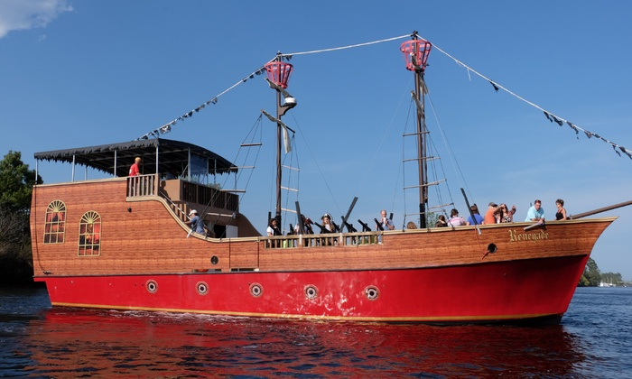 Up To 18 Off Admission Blackbeard S Pirate Cruise
