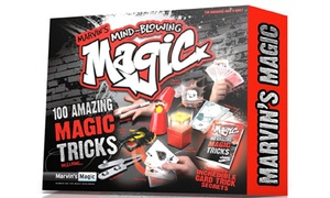 Coffret avec 100 tours de magie