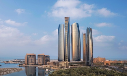 Pool and Beach Access with AED100 to Spend at Jumeirah Etihad Towers (Up to 43% Off)