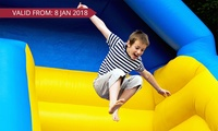 Entry to Inflatable World - Narellan: One ($10), Two ($20), Three ($30) or Four People ($40) (Up to $64 Value)