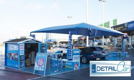 Cinco packs de limpieza del automovil a elegir desde 9.95 € en Detailcar La Vital Gandia