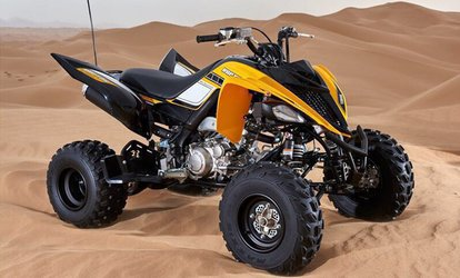 30- or 60-Minute Quad Biking for One or Two with Red Dunes Tourism