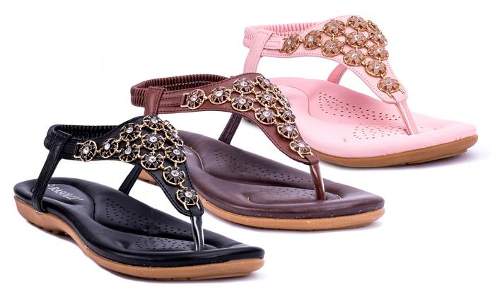 3c98aad55f1d Rasolli Shanna Women s Thong Sandals