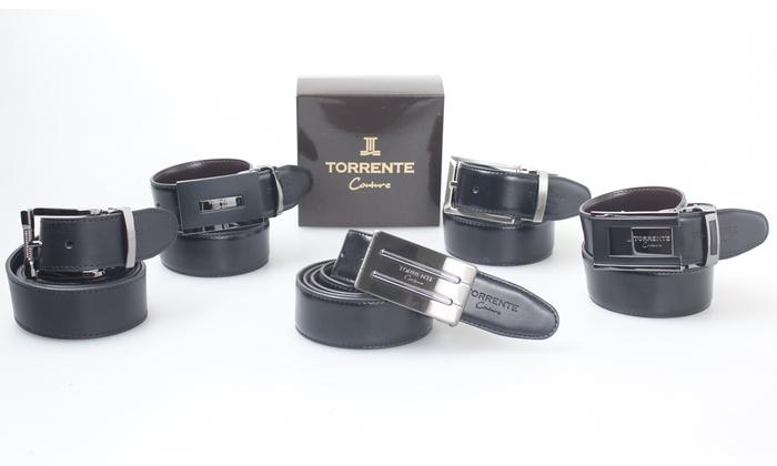668613d11975 Ceinture hommes cuir Torrente Couture   Groupon