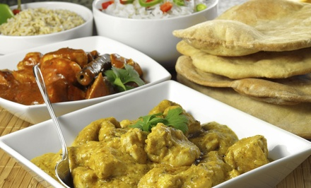 All-You-Can-Eat Indian Table-Service Dinner for Two, Four, or Six at Atithi Indian Restaurant (Up to 44% Off)