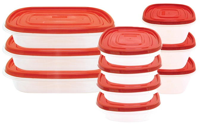 Frigidaire Plastic Food Storage Container Sets