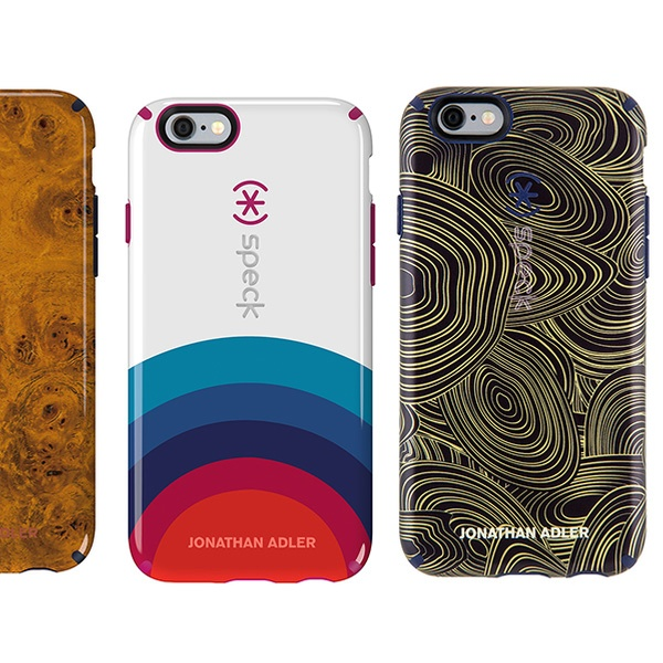 size 40 6f6e9 2a29b Speck CandyShell Inked Jonathan Adler Cases for iPhone 6/6s