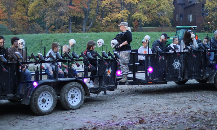 Mapleside Farms - Mapleside Farms: Zombie Paintball and Pumpkin Village Admission at Mapleside Farms on October 14–29 (33% Off)