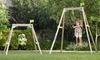 Acorn Growable Wooden Swing