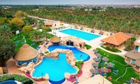 Al Ain: 1 Night at 5* Danat Al Ain Resort for Two Adults and Two Children; with Option for Breakfast and Zoo Tickets