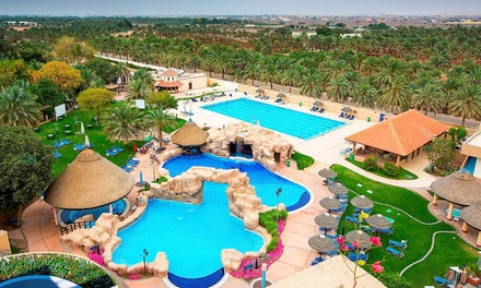 Al Ain: One-Night Stay for Two Adults and Two Children; with Option for Breakfast at 5* Danat Al Ain Resort