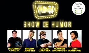 """Lambert Produções: """"Show de Stand-up Comedy"""" – Teatro Ruth Escobar: 1 ingresso"""