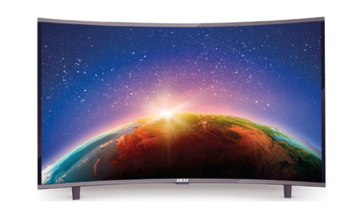 Akai 32″ HD Smart Curved LED TV With Free Delivery for £185