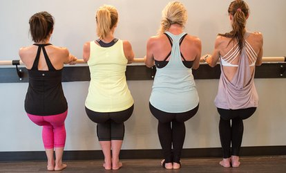 image for $36 for One Month of Unlimited Barre <strong>Classes</strong> at Studio Barre and Lounge ($120 Value)