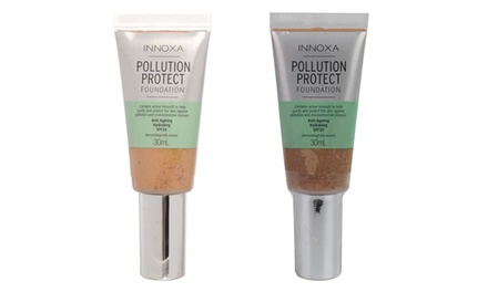 Innoxa Face Pollution Protect Liquid Foundation 30ml: Three ($19) or Six ($29) (Don't Pay up to $221.70)