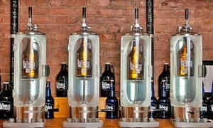 Liquor Management LLC: 64oz. Growler or Fill at Crown Wine & Spirits Growler Station (Up to 47% Off)