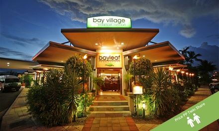 ✈ Cairns: Per Person for a 3Night Break at Bay Village Tropical Retreat and Apartments with Flights