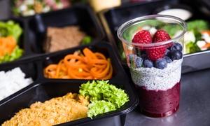 Papaj Fit: 5-daniowy catering dietetyczny Papaj Box dla 1 osoby od 94,99 zł z firmą Papaj Fit  (do -36%)